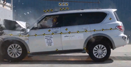 2018 Nissan Armada Crash Test (1)