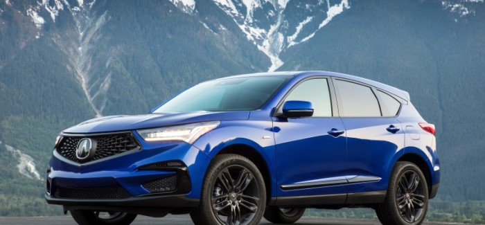 2019 Acura Rdx A Spec Advance Package Video Dpccars