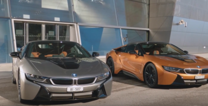 2019 BMW i8 Roadster First Edition Delivery Ceremony At BMW Welt