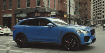 2019 Jaguar F Pace SVR, I Pace, & Range Rover SV Coupe In New York