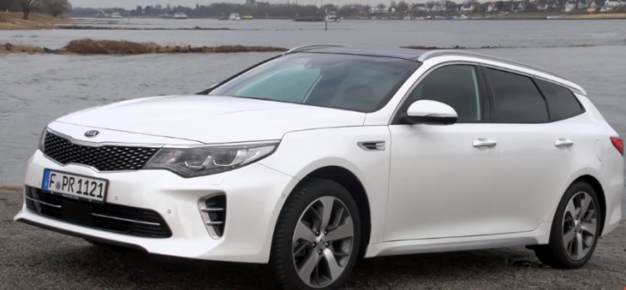 2019 Kia Optima Sw Sportswagon Review German Video