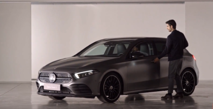 2019 Mercedes A Class Artificial Intelligence Trailer