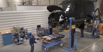 2019 Mercedes eSprinter Factory