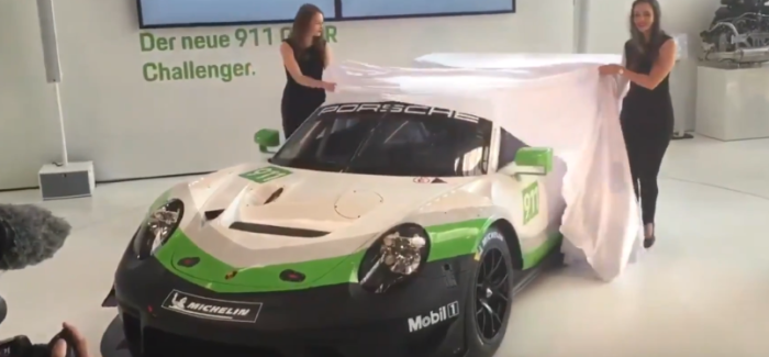 2019 Porsche 911 GT3 R Unveiling – Video