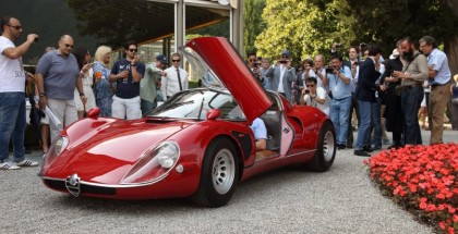 Alfa Romeo 332 Stradale wins the Coppa d'Oro at the Concorso d'Eleganza in Villa d'Este Winner 2018