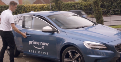 Amazon Prime Car Test Drive - Volvo