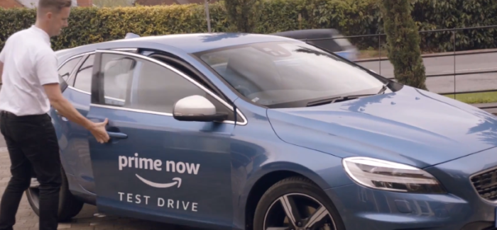 Amazon Prime Car Test Drive – Volvo – Video