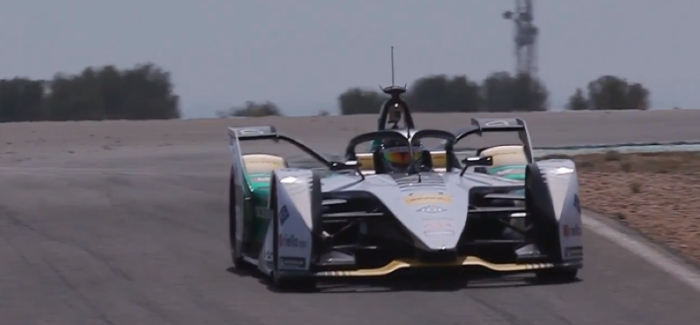 Audi e-tron FE05 for Formula E Testing – Video