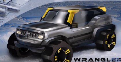FCA Product Design Office 2018 Jeep Wrangler Drive for Design Contest Winners