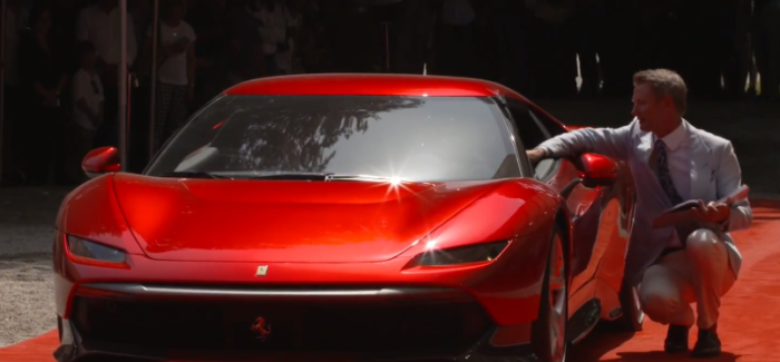 Ferrari SP38 – Video