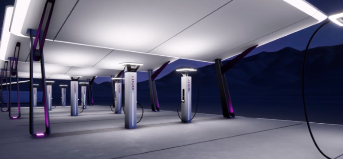IONITY Electric Car Charing Stations – Video