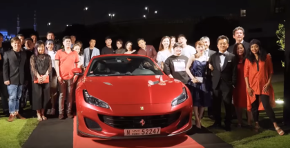 Passione Tour UAE With Ferrari Portofino