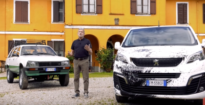 Peugeot Traveller Dangel 4X4 Explained - Italian