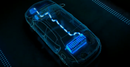 Toyota PHEV Plug in Hybrid Electric Vehicle Animation