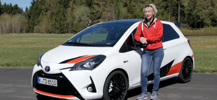 Toyota Yaris GRMN Review – German – Video