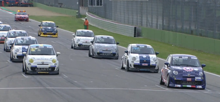 Trofeo Abarth 500 Imola 2018 HLTS – Video
