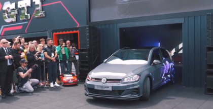 VW Golf GTI TCR Unveiling