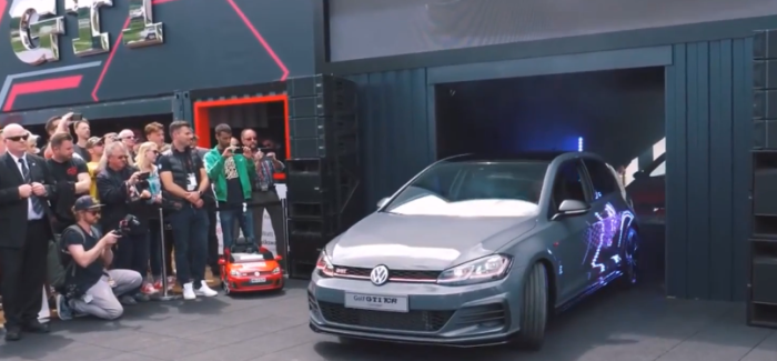VW Golf GTI TCR Unveiling – Video