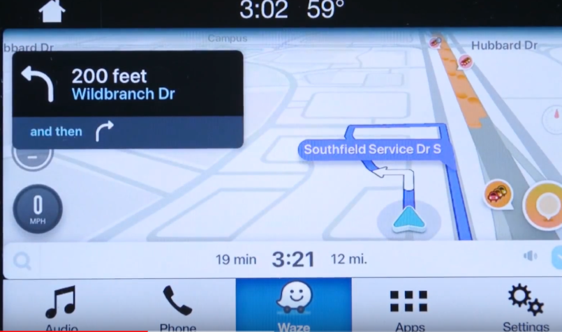 waze app on ford sync 3 how to video dpccars. Black Bedroom Furniture Sets. Home Design Ideas