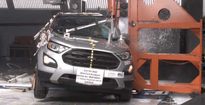2018 Ford Ecosport SUV Side Crash Test & Rating