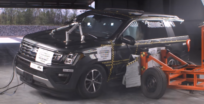 2018 Ford Expedition XLT Crash Test & Rating