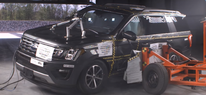 2018 Ford Expedition XLT Crash Test & Rating – Video