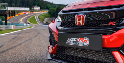 2018 Honda Civic Type R Spa Francorchamps Lap Record