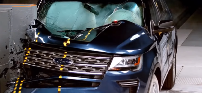 2018 Midsize SUVs Crash Test Comparison – Video
