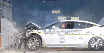 2018 Nissan Maxima S Crash Test & Rating