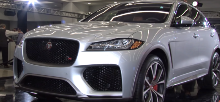 2019 Jaguar F-PACE SVR – Video