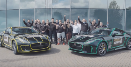 2019 Jaguar F-TYPE Donated To Armed Forces