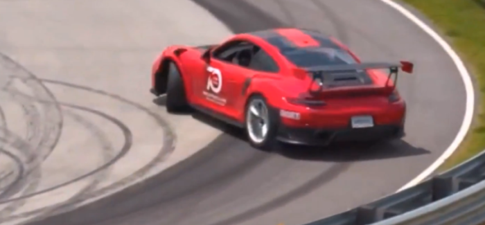2019 Porsche 911 GT3 RS Drifting – Video