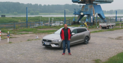 2019 Volvo V60 T6 AWD - German Review