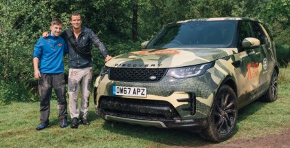 Bear Grylls Land Rover Discovery