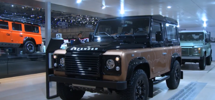 Classic Land Rover Defender Special Models – Video