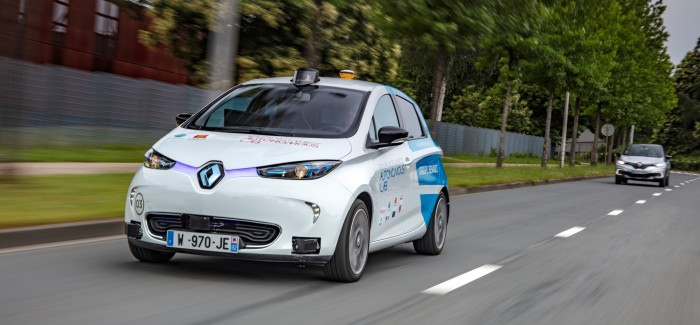 Electric Renault ZOE Autonomous Self Driving Test Vehicle – Video