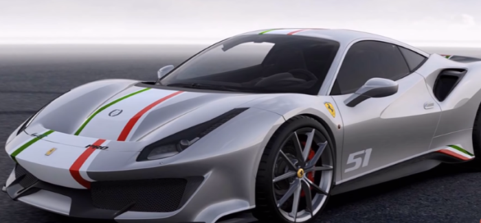 Ferrari 488 Pista Custom Piloti Ferrari – Video