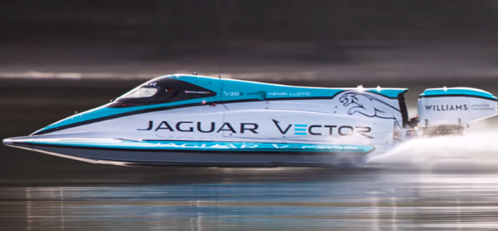 Jaguar Electric Boat Speed World Record – Video