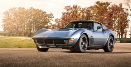 Jimmie Johnson's LT1 1971 Chevrolet Corvette Stingray