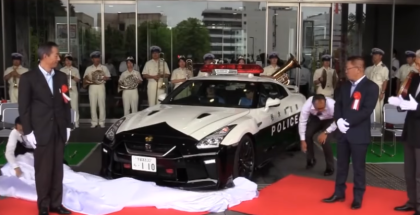 Nissan GT-R Police Car For Japan