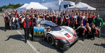 On-board Porsche 919 Hybrid Evo Nurburgring Fastest Record Lap