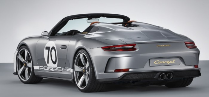 Porsche 911 Speedster Concept – Video – Update