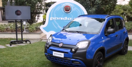 Record Braking Panda Event Featuring Fiat Panda Waze