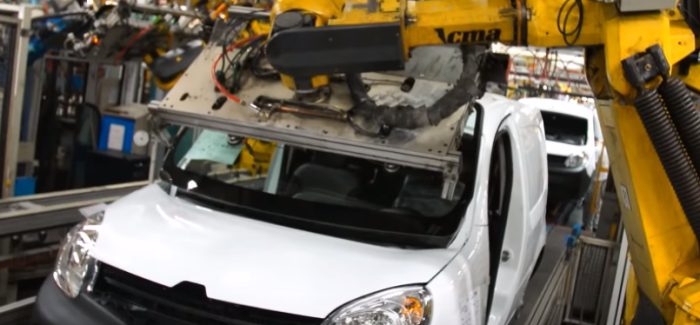 Renault Express Z. E. & Kangoo Van Factory – Video
