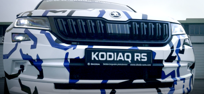 Skoda Kodiaq RS Teaser – Video
