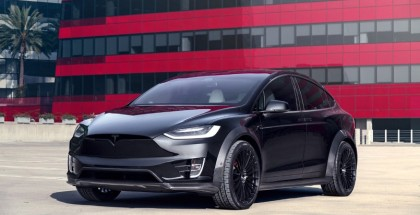 Tesla Model X P100D Limited Edition T Largo Carbon Fiber Wide Body