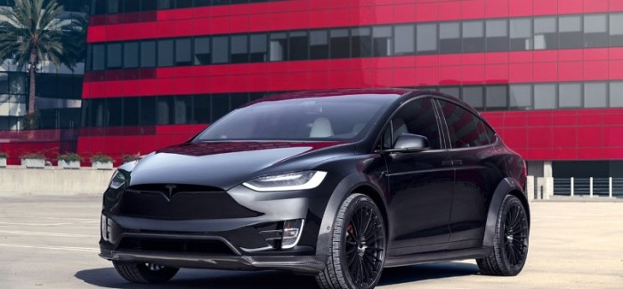 Tesla Model X P100D Limited Edition T Largo Carbon Fiber Wide Body – Video
