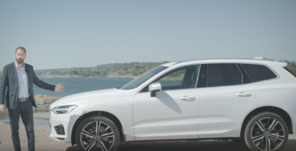 Volvo XC60 T8 Plug-in Hybrid SUV Made From Recycled Plastics