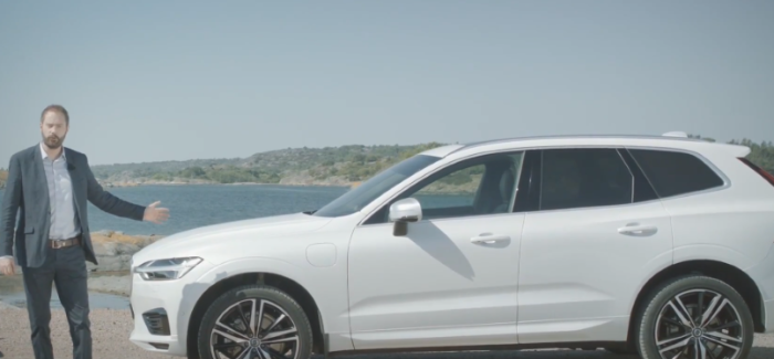 Volvo XC60 T8 Plug-in Hybrid SUV Made From Recycled Plastics – Video