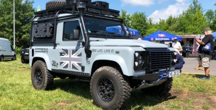 World's Longest Land Rover Parade - 2018 Guinness World Record